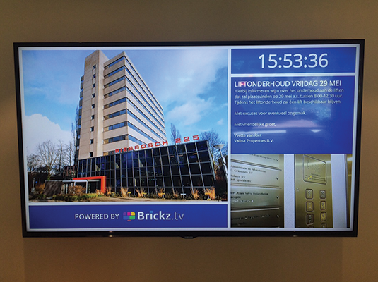 A Brickz.tv                             powered Biesbosch 225 screen